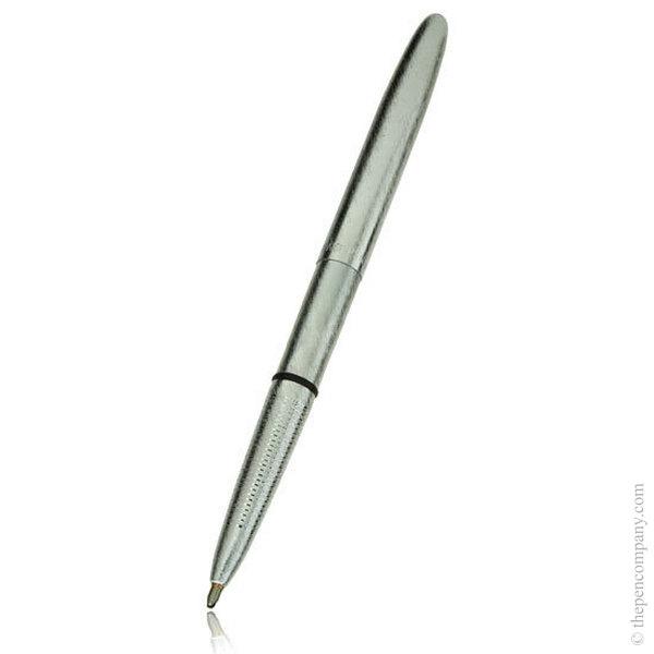Brushed Chrome Fisher Space Pen Bullet Ballpoint Pen