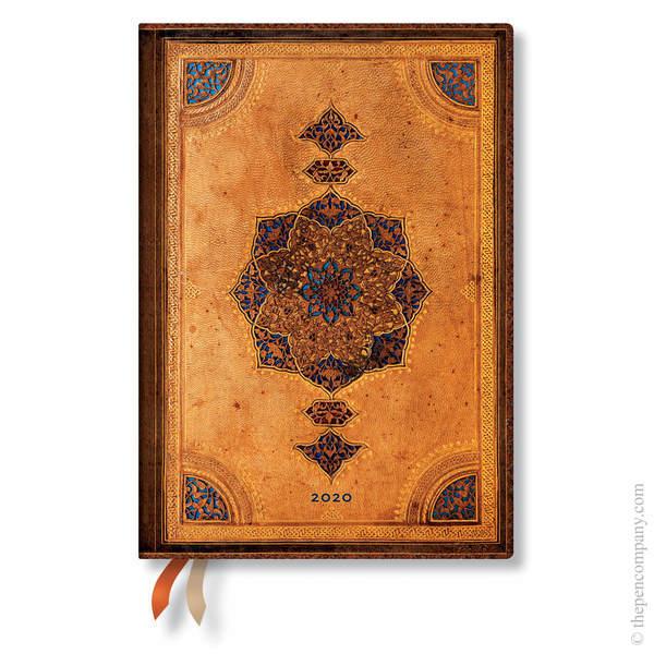 Midi Paperblanks Safavid Flexi 2020 Diary