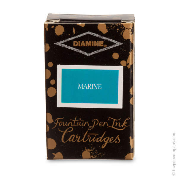 Marine Diamine Fountain Pen Ink Cartridges