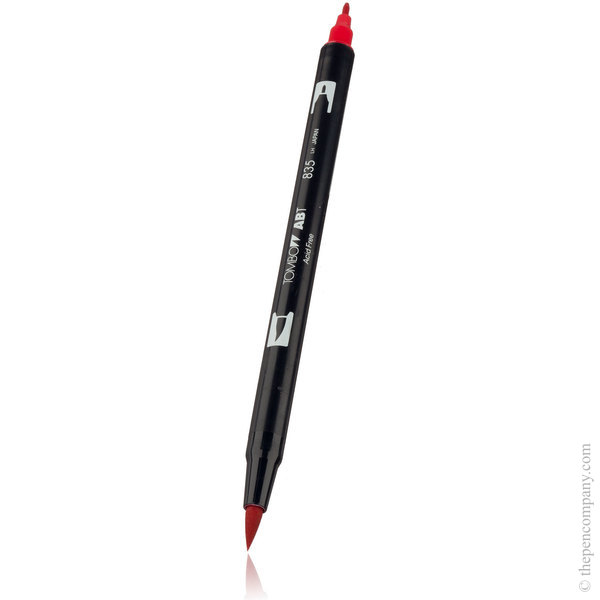 835 Persimmon Tombow ABT Brush Pen
