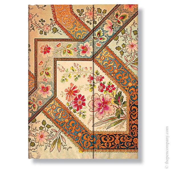 Midi Paperblanks Lyon Florals Address Book Filigree Floral-Ivory