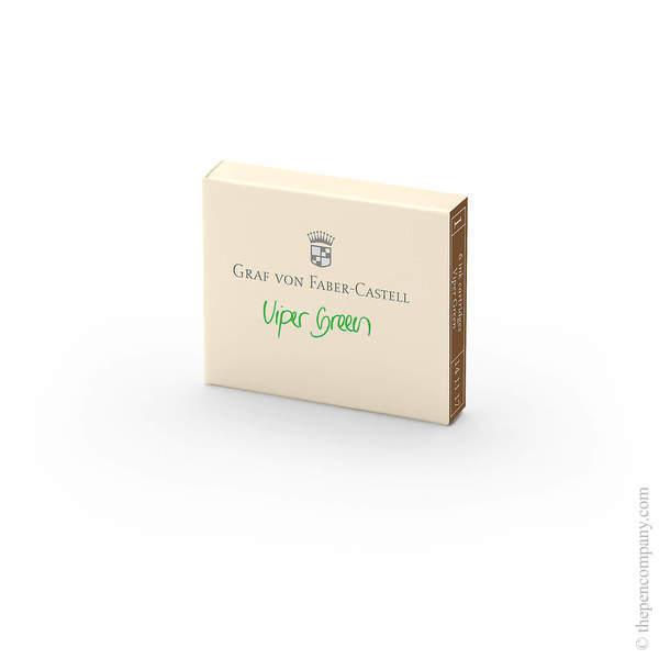 Viper Green Graf von Faber-Castell Fountain Pen Ink Cartridges
