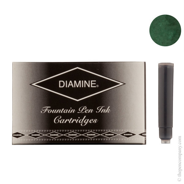 Umber Diamine Fountain Pen Ink Cartridges