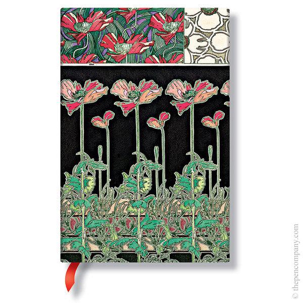 Mini Paperblanks Mucha Journal Papaver Lined