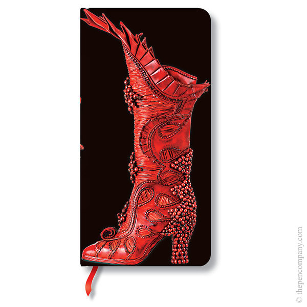Slim Paperblanks Fabulous Footwear Journal Sorceress Lined