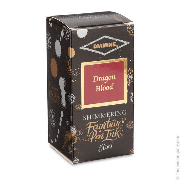 Dragon Blood Diamine Bottled Shimmertastic Ink