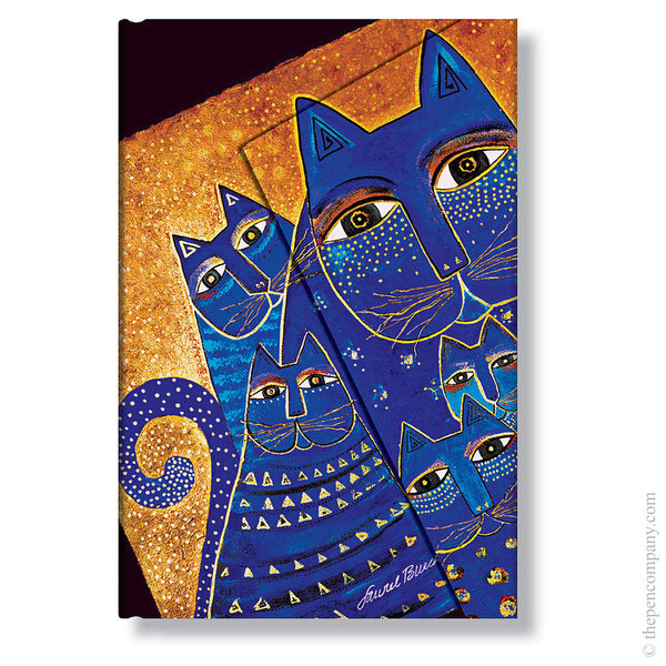 Mini Paperblanks Laurel Burch - Fantastic Felines Address Book Mediterranean Cats