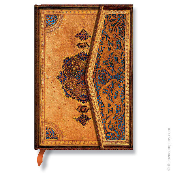 Mini Paperblanks Safavid Binding Art Journal Lined
