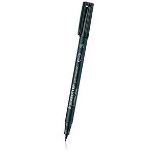 Staedtler Lumocolor superfine permanent marker black - 1