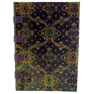 Paperblanks French Ornate Silk Lined Journal Bleu - 4