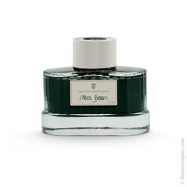 Moss Green Graf von Faber-Castell Bottled Fountain Pen Ink