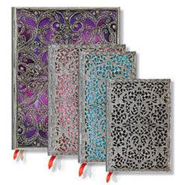 Paperblanks Silver Filigree Diary