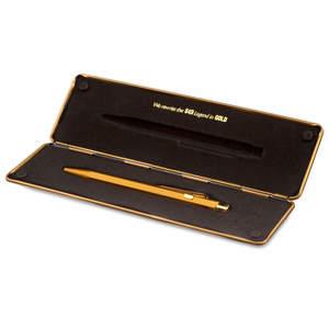 Caran d'Ache 849 Gift Line Goldbar ballpoint pen