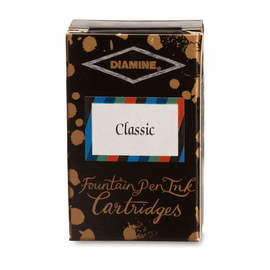 Classic selection - Diamine Fountain Pen Cartridges