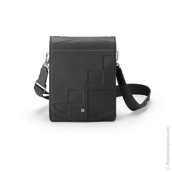 Black Graf von Faber-Castell Cashmere Messenger Bag Small Backpack