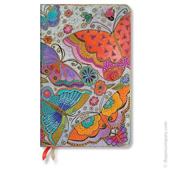 Paperblanks Maxi Week-to-view Laurel Burch Flutterbyes 2017 Diary - 1