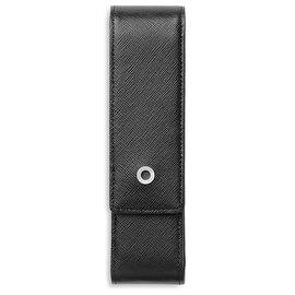Graf von Faber-Castell Saffiano double pen case - 1