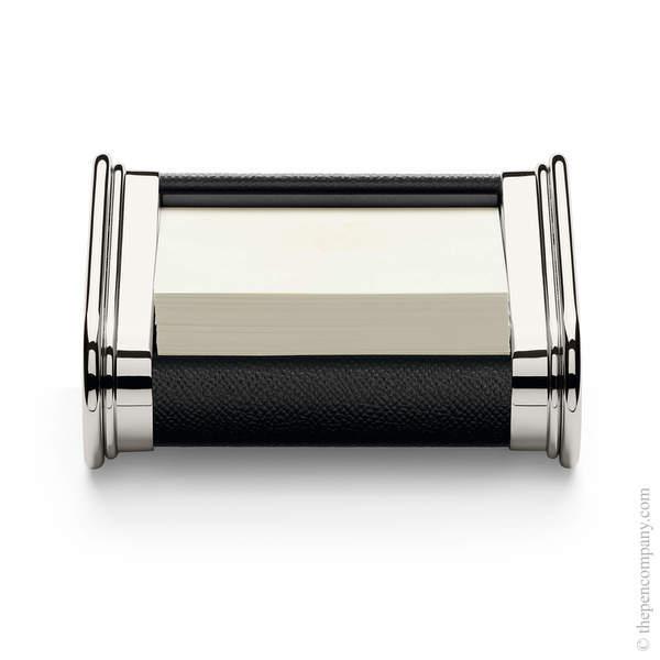 Black Graf von Faber-Castell Epsom Notelet Box Notelet Box