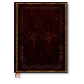 Paperblanks ultra week-to-view old leather black moroccan 2015 diary - 9