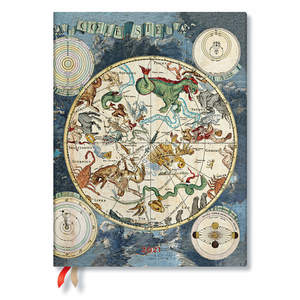 Paperblanks Celestial Planisphere Early Cartography 2021 Diary Ultra