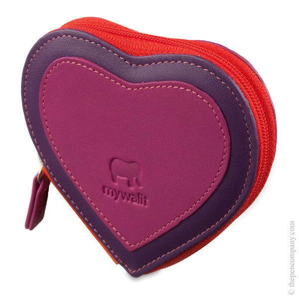 Sangria Multi Mywalit Heart Coin Purse