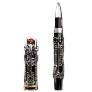 Montegrappa Lord Of The Rings Limited Edition Rollerball Pen Silver - 1