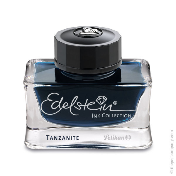 Tanzanite Pelikan Bottled Edelstein Ink