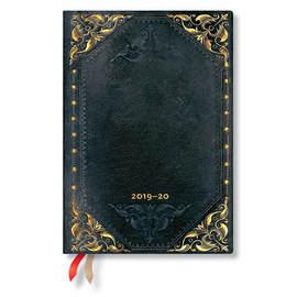 Midi Paperblanks The New Romantics Flexi 2019-2020 18 Month Diary Midnight Rebel Horizontal Week-to-