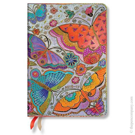 Paperblanks Midi Day-at-a-Time Laurel Burch Flutterbyes 2017 Diary - 1