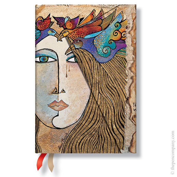 Mini Paperblanks Laurel Burch - Spirit of Womankind Journal Soul and Tears Lined