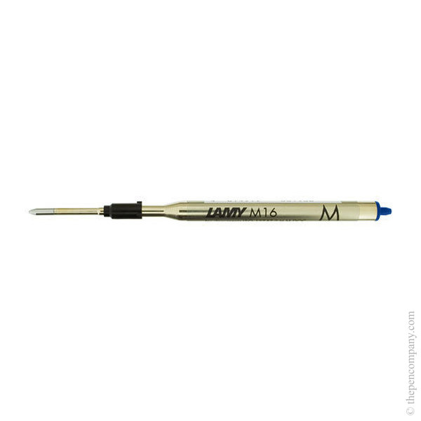 Blue Lamy M16 Ballpoint Pen Refill Medium