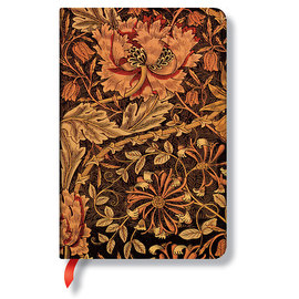 Lined Mini Paperblanks William Morris Honeysuckle Journal - 1