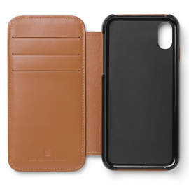 Cognac Graf von Faber-Castell Epsom iPhone X Cover Phone Case - 1