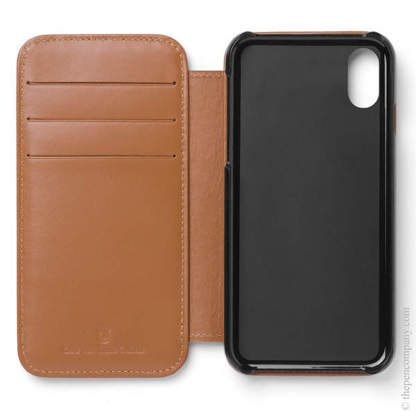 Cognac Graf von Faber-Castell Epsom iPhone X Cover Phone Case