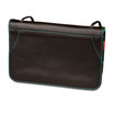 Mywalit Full Flap Multicomp Shoulder Clutch Bag Black Pace - 4