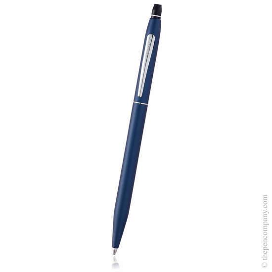 Midnight Blue Cross Click Ballpoint Pen - 1