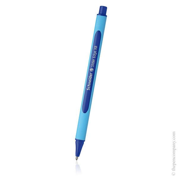 Blue Schneider Slider Edge Ballpoint Pen Extra Broad