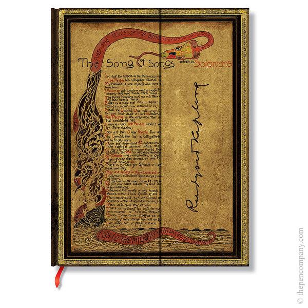 Ultra Paperblanks Embellished Manuscripts Journal Journal Kipling, Song of Songs Lined