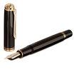 Black Pelikan Souveran 1000 Fountain Pen - Medium Nib - 3