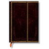 Lined Midi Paperblanks Black Moroccan Journal - 1
