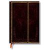 Lined Midi Paperblanks Black Moroccan Journal - 1