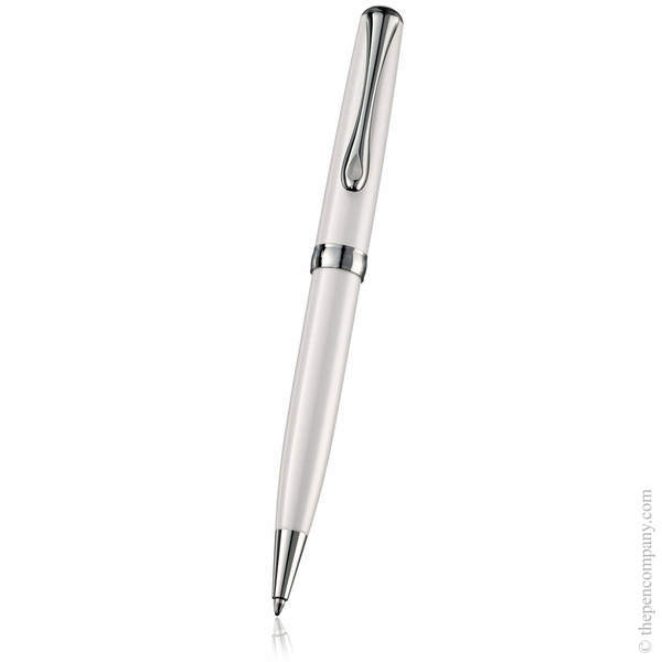 Pearl White Diplomat Excellence A2 Ballpoint Pen