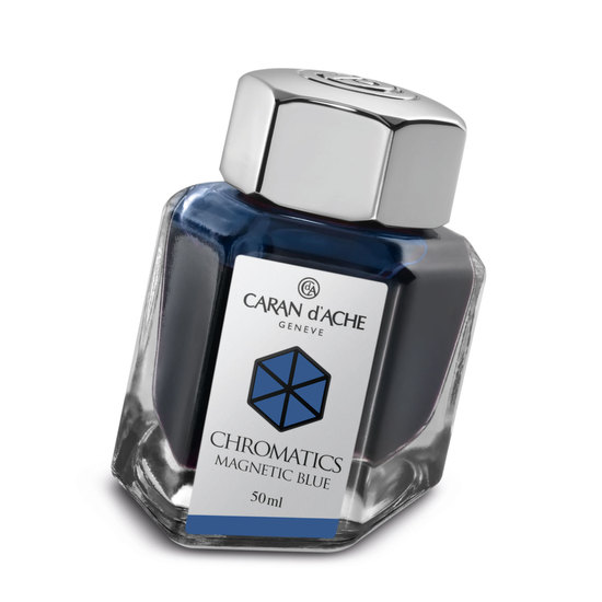 Caran d'Ache Chromatics Ink - Magnetic Blue - 1