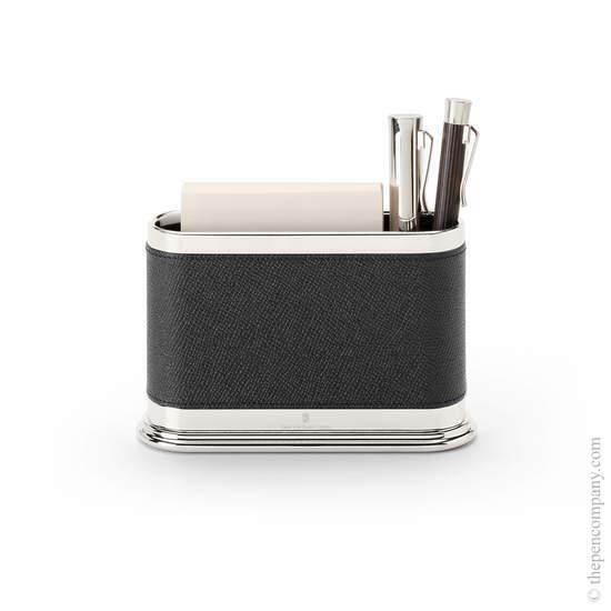Black Graf von Faber-Castell Notelet Box with Pen Holder - 1