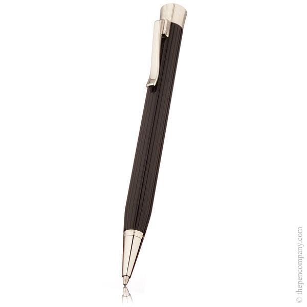 Black Graf von Faber-Castell Intuition Platino Fluted Ballpoint Pen