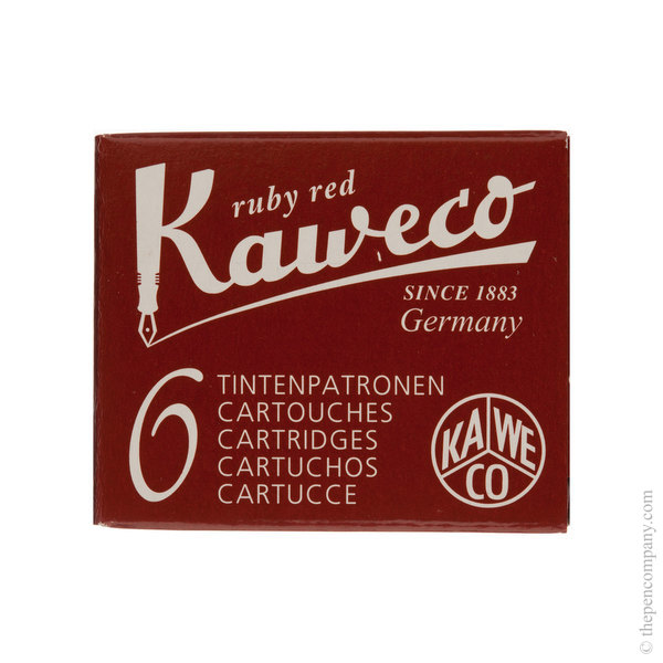 Ruby Red Kaweco Ink Cartridges