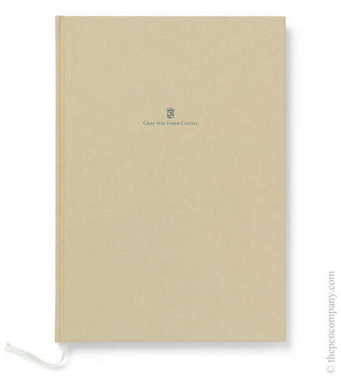 Golden Brown A4 Graf von Faber-Castell Linen Notebook Journal - 1