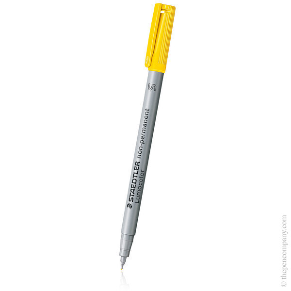 Yellow [1] Staedtler Lumocolor Non-permanent Marker