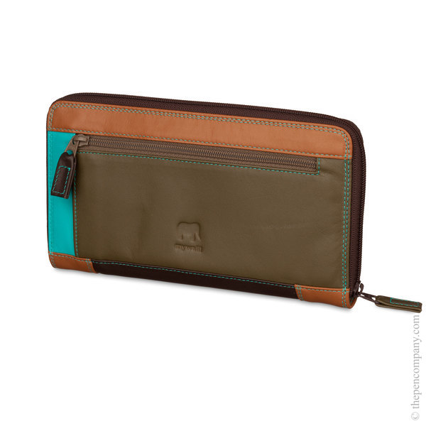 Chocolate Mousse Mywalit Large Zip Around Wallet/ Purse