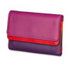 Mywalit Double Flap Purse Sangria Multi - 2